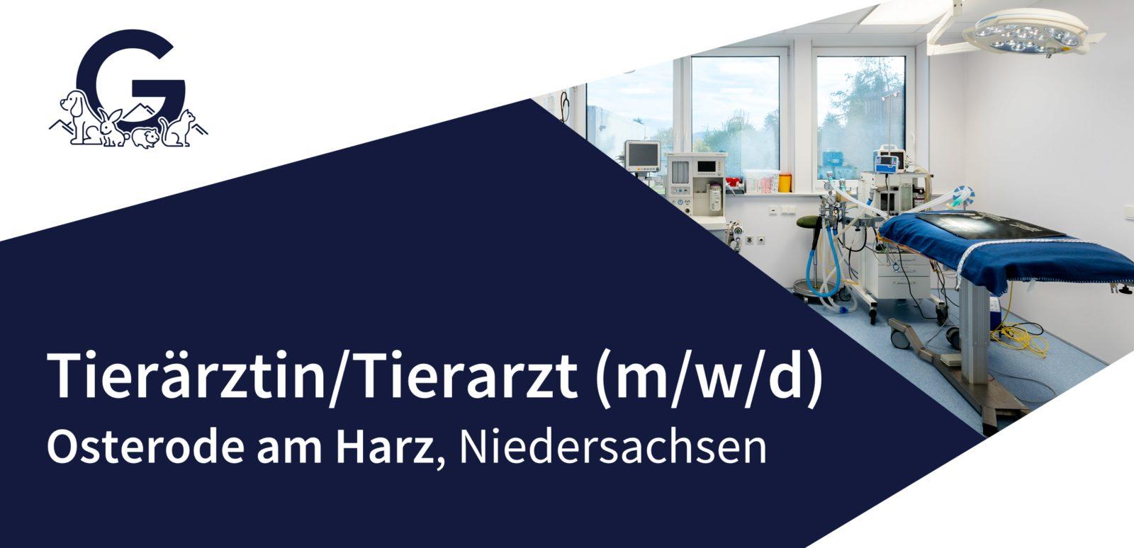 Tiergesundheitszentrum Südharz GmbH - Tierarzt für den Bereich Stomatologie (m/w/d) in Osterode am Harz gesucht