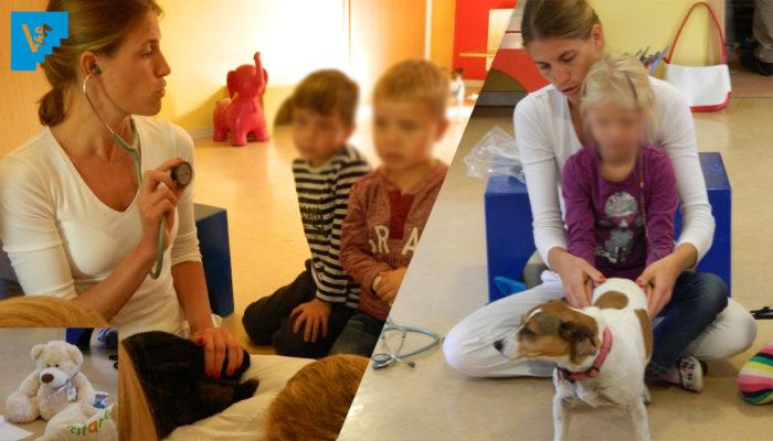 """""""Was Macht Ein Tierarzt?!"""" – Eine Frage Der Jüngsten Wird Beantwortet."""