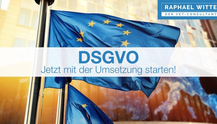Datenschutz-Grundverordnung (DSGVO) Ab 25 Mai 2018