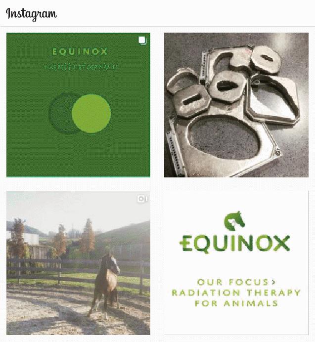 Equinox Healthcare GmbH bei Instagram